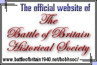 Enter the Official Battle of Britain Historical Society website