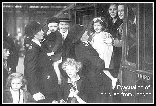 Evacuation of children from London